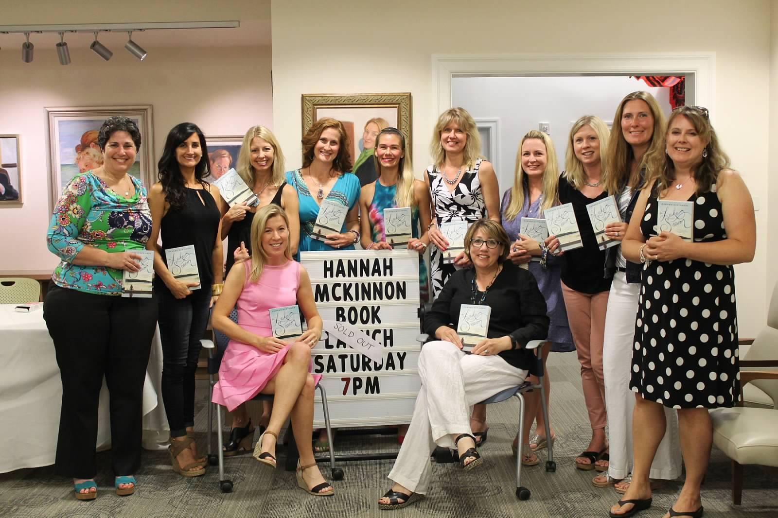hannah book signing