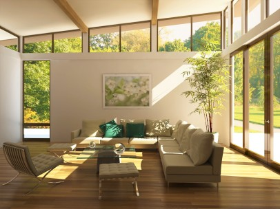 Awesome Modern Loft Living Room | Architecture